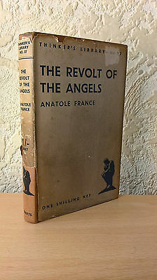 The Revolt of the Angels, Anatole France, Watts & Co,London,1933 [First Edition]