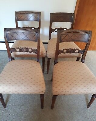 Antique regency chairs