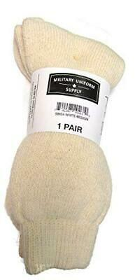 CLEARANCE - Military Uniform Supply Wool Boot Socks