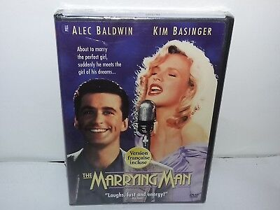 The Marrying Man (DVD, Canadian, Bilingual, Widescreen) NEW With Damage - No Tax
