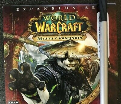 World of Warcraft Mists of Pandaria Code Only (PC) - UNUSED CODE