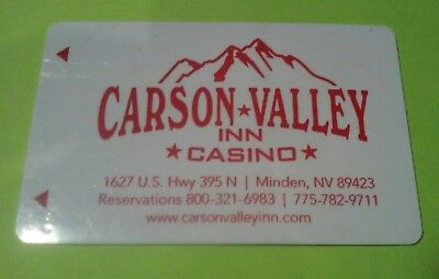 Carson Valley Inn Casino Minden, Nevada Room Key Card Great For Any Collection!