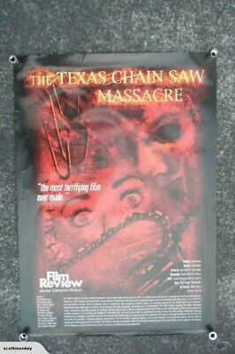 TEXAS CHAINSAW MASSACRE - LARGE POSTER - p3184