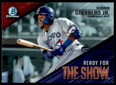 2019 Bowman Ready for the Show Chrome Inserts - You Choose - Free Ship
