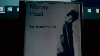 Murray Head Cd Single Say It Aint So Joe / Never Even Thought Rare
