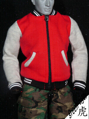 M311 [NEW SERIES] 1:6 Scale Male Action figure Baseball Suit - Red Jacket ONLY