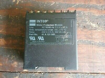 Kriwan INT 69, 41 A 121 S60 Motor Protection Module