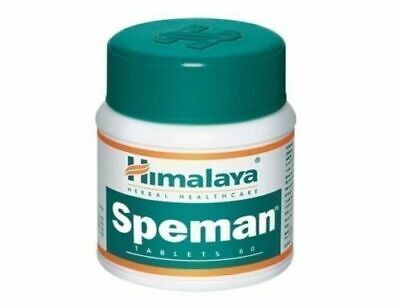 HIMALAYA SPEMAN  60 Tablets Increase Sperm Count and Quality Expiry 2022