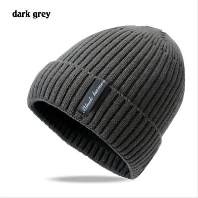 2018 Wool skullies beanies Winter hat Male Outdoor ski Mask velvet scarf cap bon