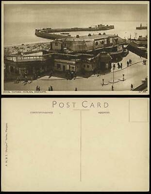 Ramsgate Old Postcard ROYAL VICTORIA PAVILION Meet Navy