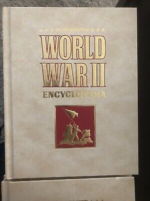 RARE 28 Vol. Set Illustrated World War II WW2 Encyclopedia Limited Edition