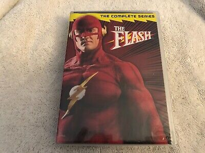 (Brand New Sealed) The Flash The Complete Series Dvd Rare Justice League