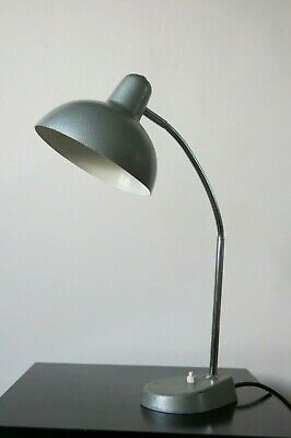 Vintage Mid Century French Industrial Desk Lamp
