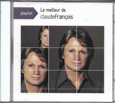 Cd 15 Titres Le Meilleur De Claude Francois Best Of 2015 Playlist Neuf Scelle