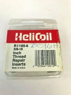 Helicoil 3/8-16 Inch Thread Repair Inserts
