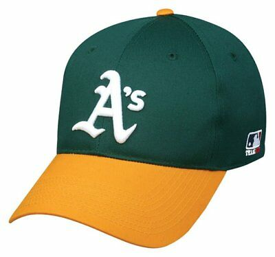 Oakland Athletics Home Replica Baseball Cap Adjustable Youth Adult A's Hat