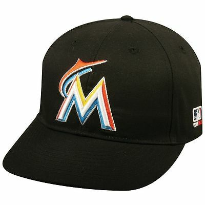 Miami Marlins Home Replica Baseball Cap Adjustable Youth or Adult Hat