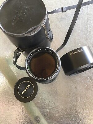 "Fuji EBC FUJINON T 135mm F2.5 M42 Screw Thread Lens """"READ!"""""