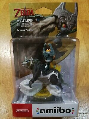 Nintendo amiibo Link Lobo Wolf Link The Legend of Zelda Twilight Princess