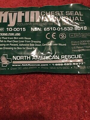 hyfin chest seal north American rescue