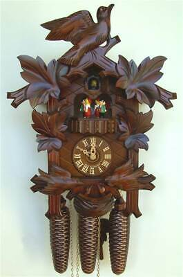 8-Day Musical Black Forest House Cuckoo Clock [ID 93486]