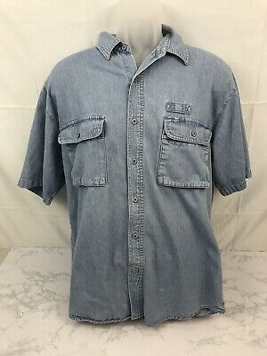 VINTAGE BUGLE BOY Mens Jeans 32x30 Loose Tapered Cotton