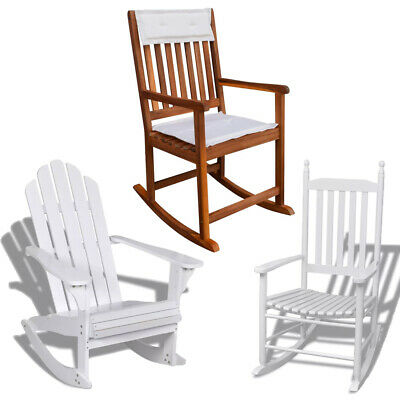 Awesome New Garden Rocking Chair Seat Traditional Slat Wooden Squirreltailoven Fun Painted Chair Ideas Images Squirreltailovenorg