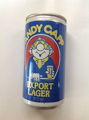 Rare Vintage Andy Capp Lager Beer Can