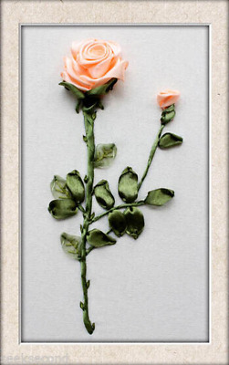 Ribbon Embroidery Kit A Rose For Your Lover Needlework Craft Kit RE3002