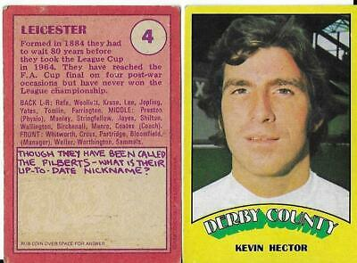 A&BC - 1974 - Red Back - Choose from drop down list  - Football Cards