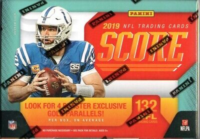 2019 Panini Score NFL Football Cards Retail Blaster Box 132 Cards