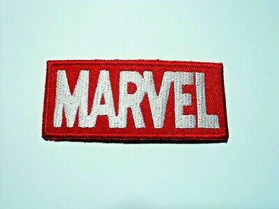 1x Marvel Logo Patches Embroidered Cloth Applique Badge Iron Sew On Superhero
