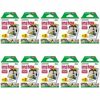 10 Packs 200 Instant Photos FujiFilm Fuji Instax Mini Film Polaroid 7S SP-1 SP-2