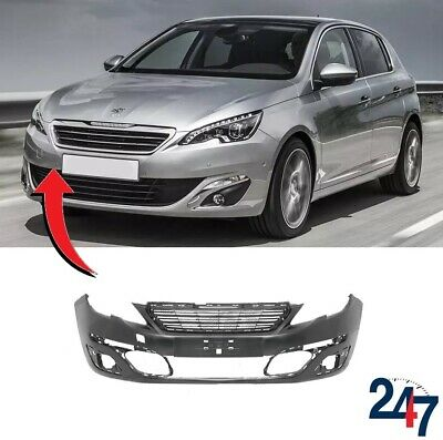 New Peugeot 308 2013 - 2017 Front Bumber Cover With Hole For Tow Bar