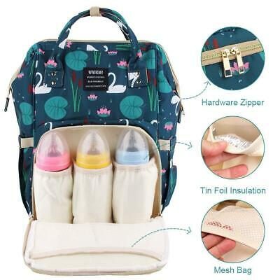 Gvirtue Baby Diaper Backpack, Mommy Backpack with Large Capacity,...