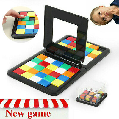Race Board Game Face to Face Strategy Puzzle Toy Kids Magic Block Game Toy