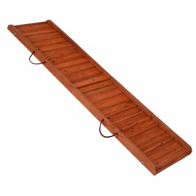 Dog Backstage Ramp Cars Stairs Transportation Old Dog Portable Wooden 160x40cm