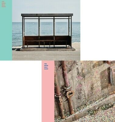 K-POP BTS [WINGS You Never Walk Alone] CD+120p Photobook+Photocard+Folded Poster