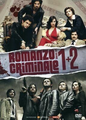 Romanzo Criminale Stg.1+2 (box 8 Dvd)