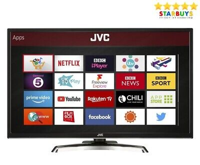 "JVC LT-32C790 32"" Inch SMART LED 1080p TV Freeview HD WiFi USB Record & HDMI"