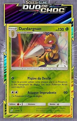 Gyarados Reverse Pokemon Card New French SL09: Pair Shock 30//181