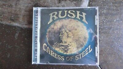 Caress of Steel (Remaster) by Rush (CD, May-1997, Mercury)