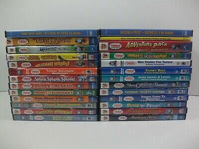Thomas The Train & Friends Mighty Super Machines 26 Used Kids DVD Lot