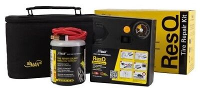 Airman ResQ OEM Car Tyre Repair Kit 12v Compressor & Sealant Fix Punctures Fast
