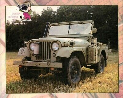 "Documentation ""Jeep M38 A1"" - Wings & Wheels Publication R11"
