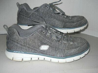 Details about Skechers Synergy SPOT ON Women's Athletic Sneakers Gray Memory Foam Size 8 NWB