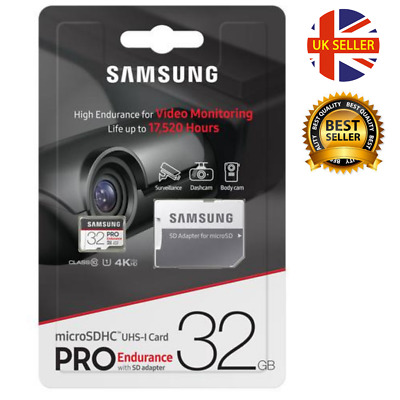 Samsung 32GB Micro SD Card SDHC PRO UHS-I Class 10 TF Memory Card GENUINE 100% ✅