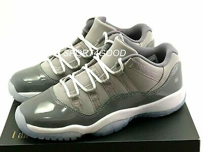 60e9c1213127 NIKE MENS AIR Jordan 11 Retro Low Cool Grey 528895-003 Size 13 Pre ...