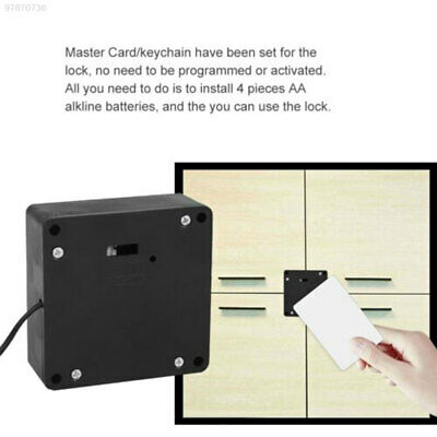 E8D3 RFID Smart Cabinet Lock Cabinets Business Universal Invisible Lock