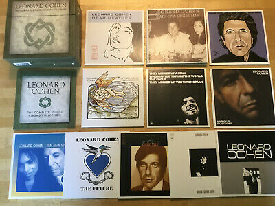 Leonard Cohen [11 CD Box] Songs Love Hate Ten New Future New Skin Death Man Room